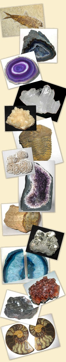 Rocks, Minerals, and Fossils